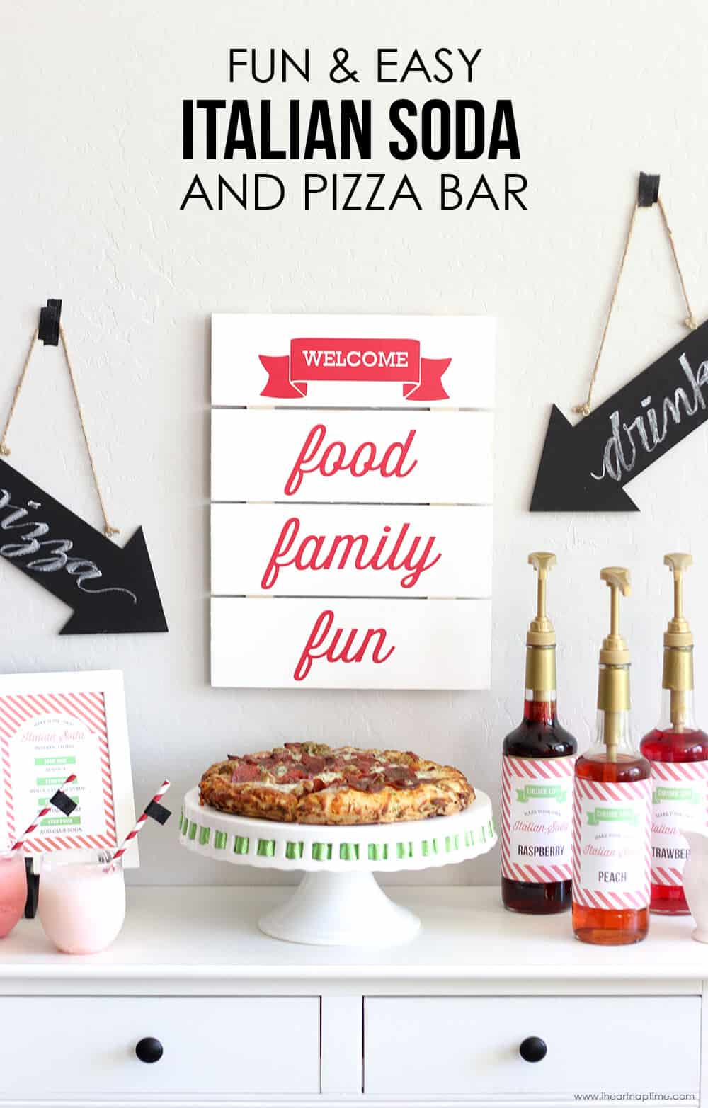 Hosting a fun family night doesn't have to be hard. Recreate this Easy Family Pizza Night pizza that your family (and friends!) will love!