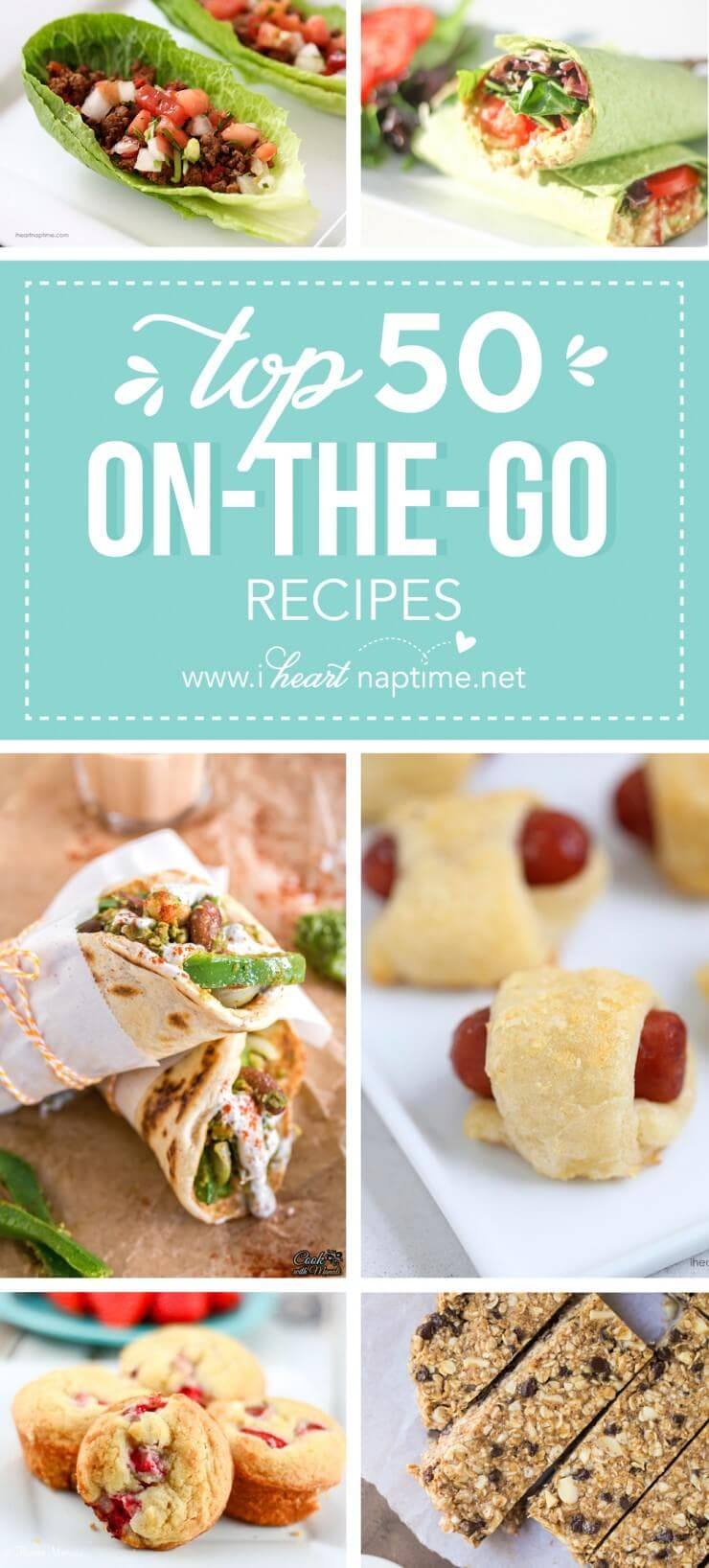 Top 50 On the Go Recipes