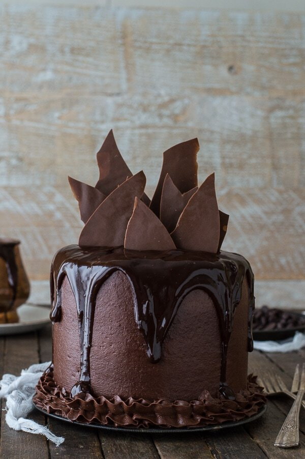 Flourless Chocolate Wedding Cake