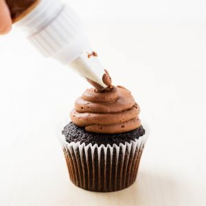 Chocolate buttercream frosting ...creamy, rich and irresistible! This is the BEST recipe!
