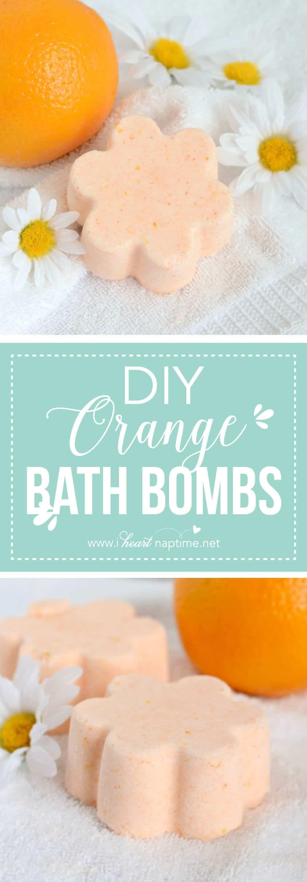 Diy Orange Bath Bombs I Heart Nap Time