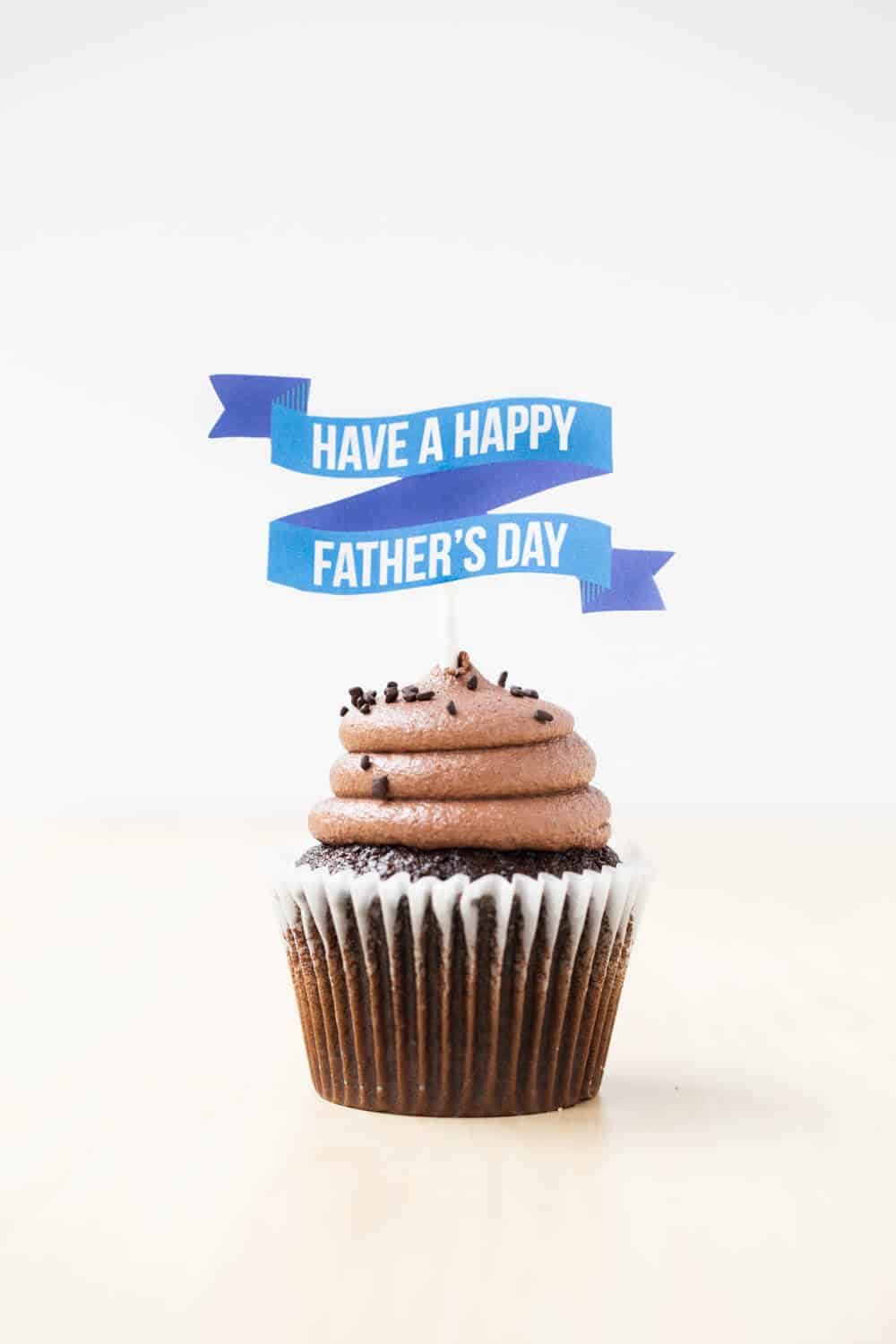 FREE printable Fathers Day Cake Topper