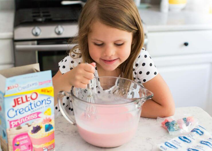 Princess pudding cups