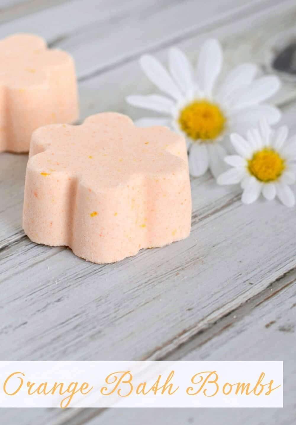 DIY Orange Bath Bombs