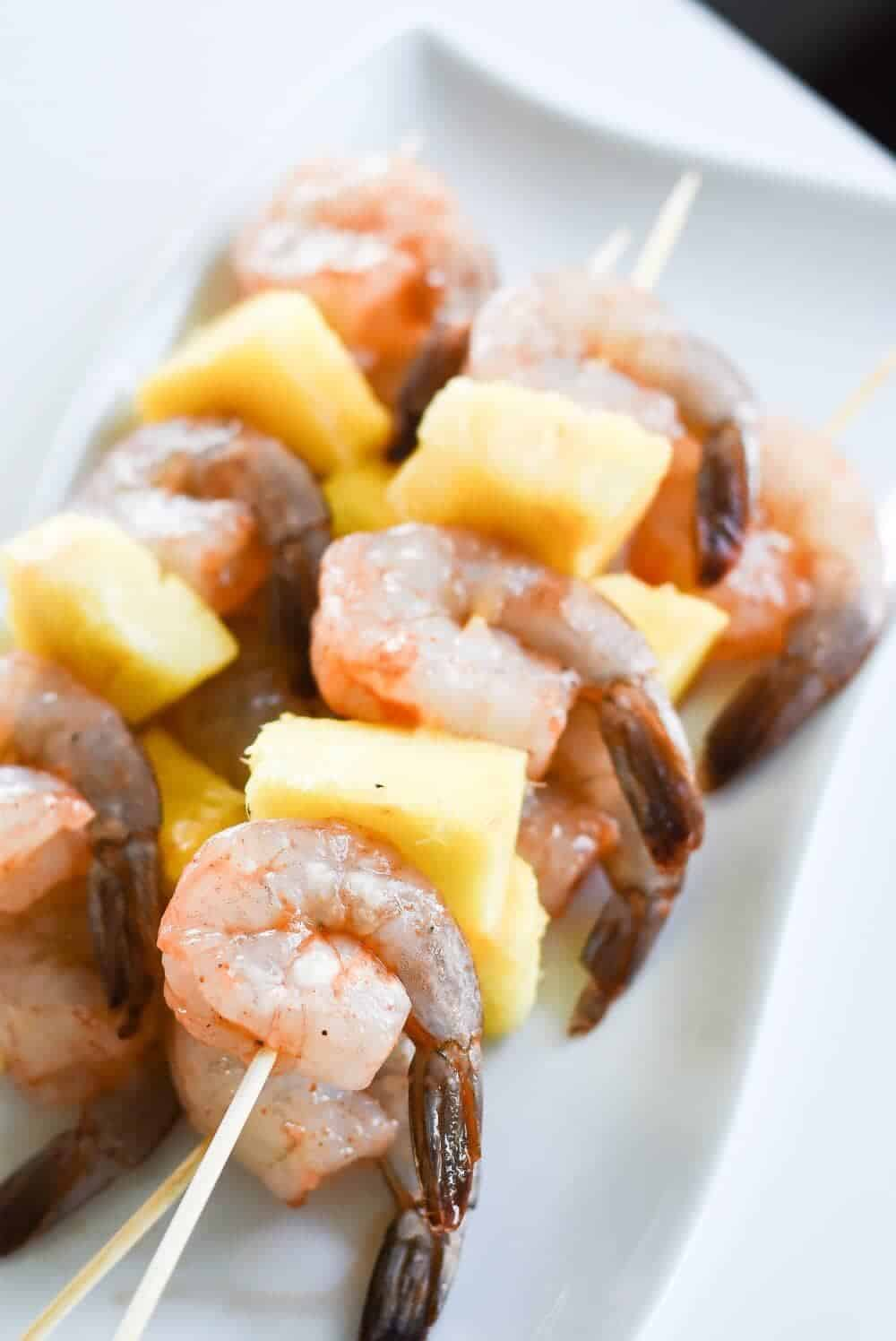 Spring Entertaining Ideas and Shrimp Kabobs - turning your outdoor space into a welcoming dinner atmosphere for your guests, can be EASY to accomplish this Spring.