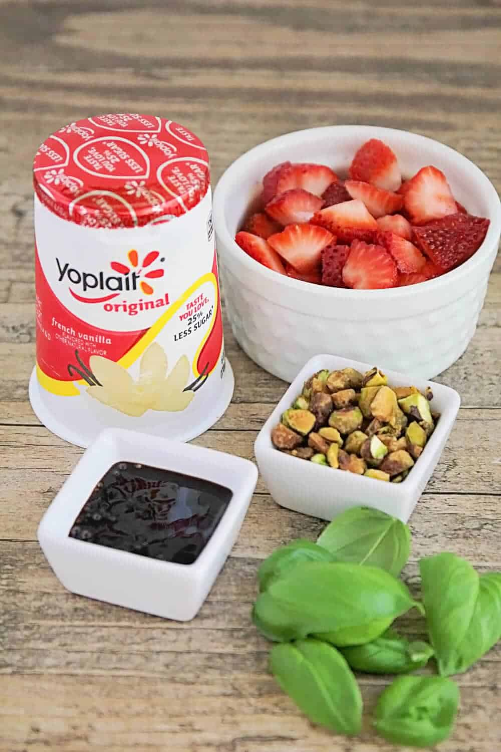 3 delicious ways to one up your yogurt - make a cup of yogurt into a delicious breakfast, snack, or dessert with simple add-ins like fresh and dried fruit, nuts, and coconut!