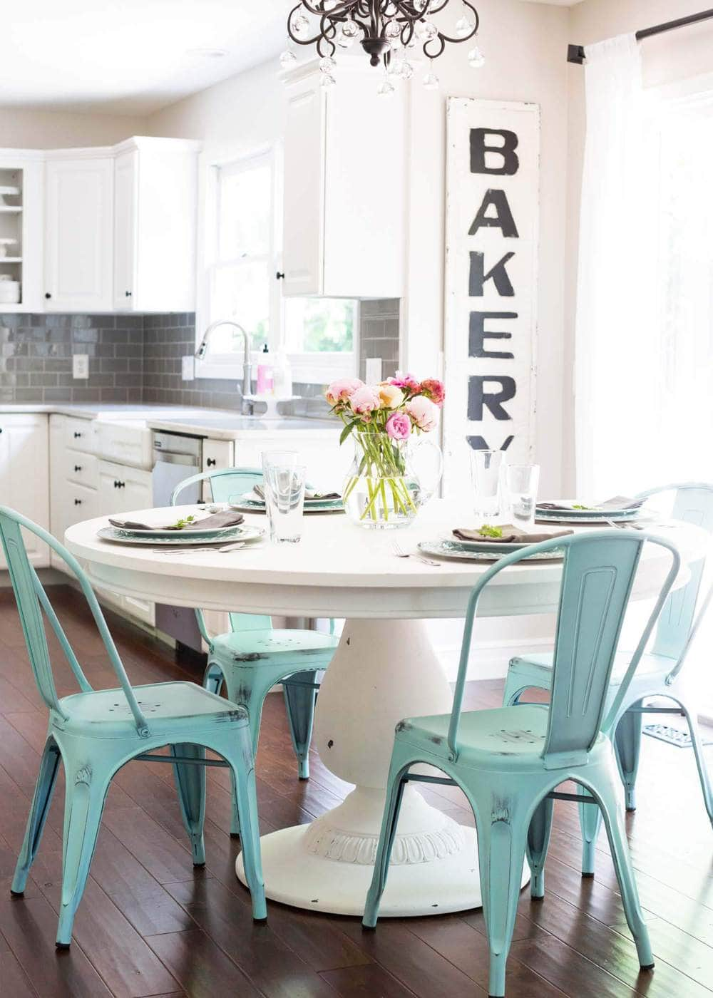 Chalk Paint Kitchen Table Tutorial