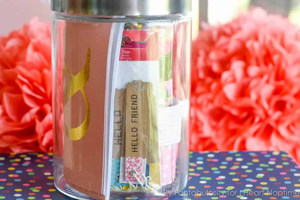 Favorite Things Gift in a Jar - Tags