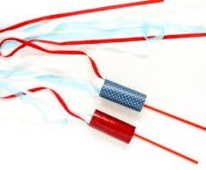 DIY Firework Ribbon Wand - an easy DIY to do with the kids, and perfect for a safe celebration of the 4th of July