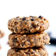These No Bake Breakfast Cookies are easy to make, healthy, packed with protein and simply delicious. They can be whipped up in less than 5min and stored for up to two weeks.