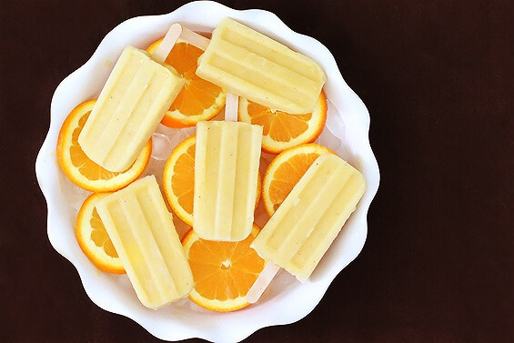 Pineapple Orange Banana Popsicles on the Top 50 Homemade Ice Cream and Popsicle Recipes