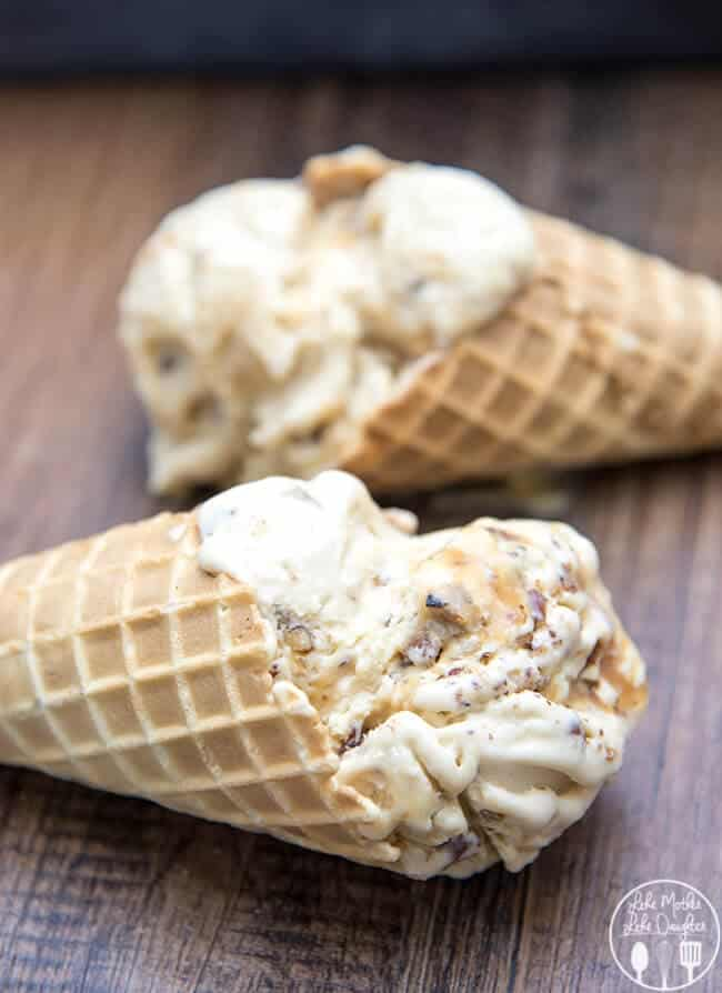 Salted Caramel Pecan Ice Cream on the Top 50 Homemade Ice Cream and Popsicle Recipes