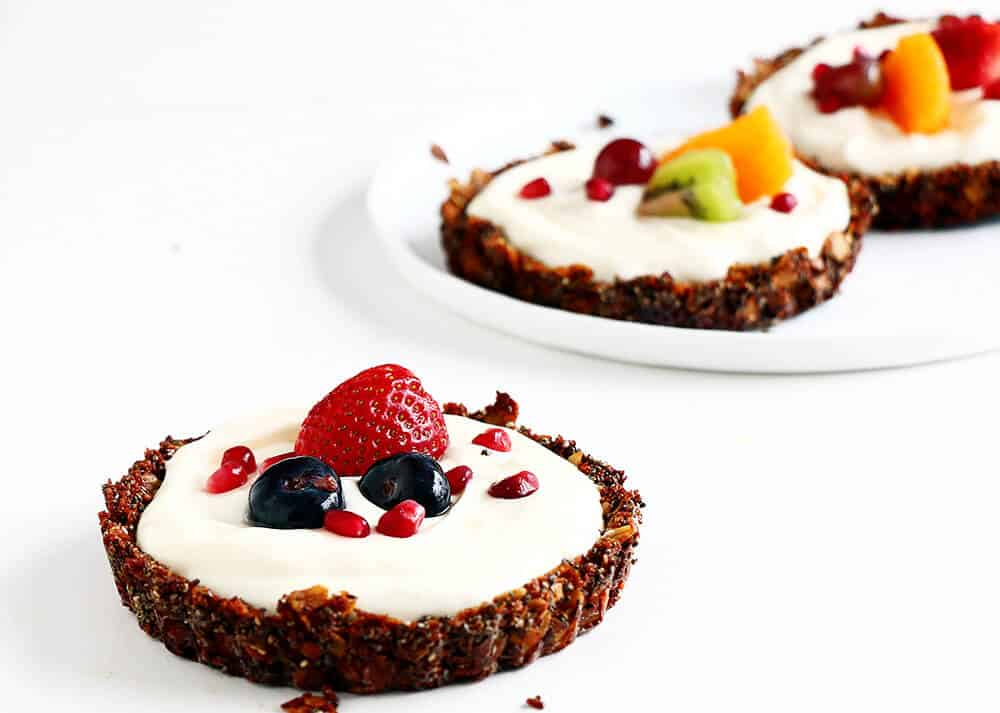 Breakfast Fruit Tarts... an easy to make refreshing and healthy breakfast