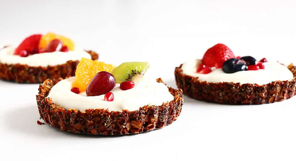 Breakfast Fruit Tarts... delicious and incredibly easy to make!