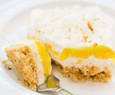 Lemon Coconut Cream Dessert Lasagna... a delicious and easy dessert!