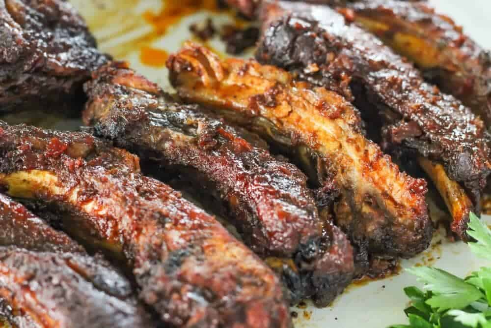 Slow Cooker Ribs - falling off the bone, so delicious and so easy!