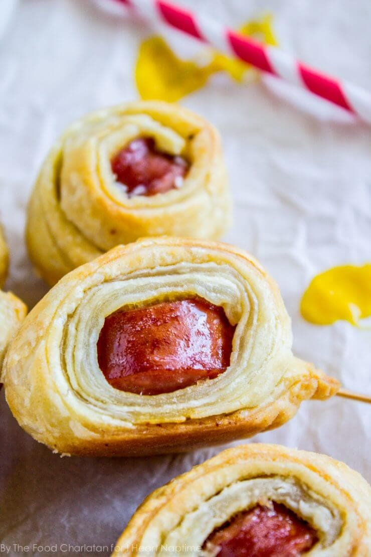 Top 50 Back to School Lunches and Snacks... Kielbasa Puffs
