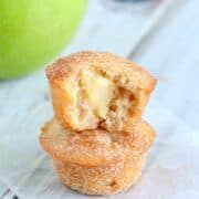 Easy and delicious, these apple snickerdoodle muffins are sure to become a favorite!
