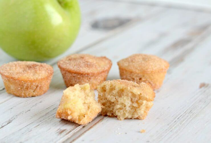 Recipe for apple snickerdoodle muffins. Bursting will fall flavor, these muffins are easy to make and fun to serve!