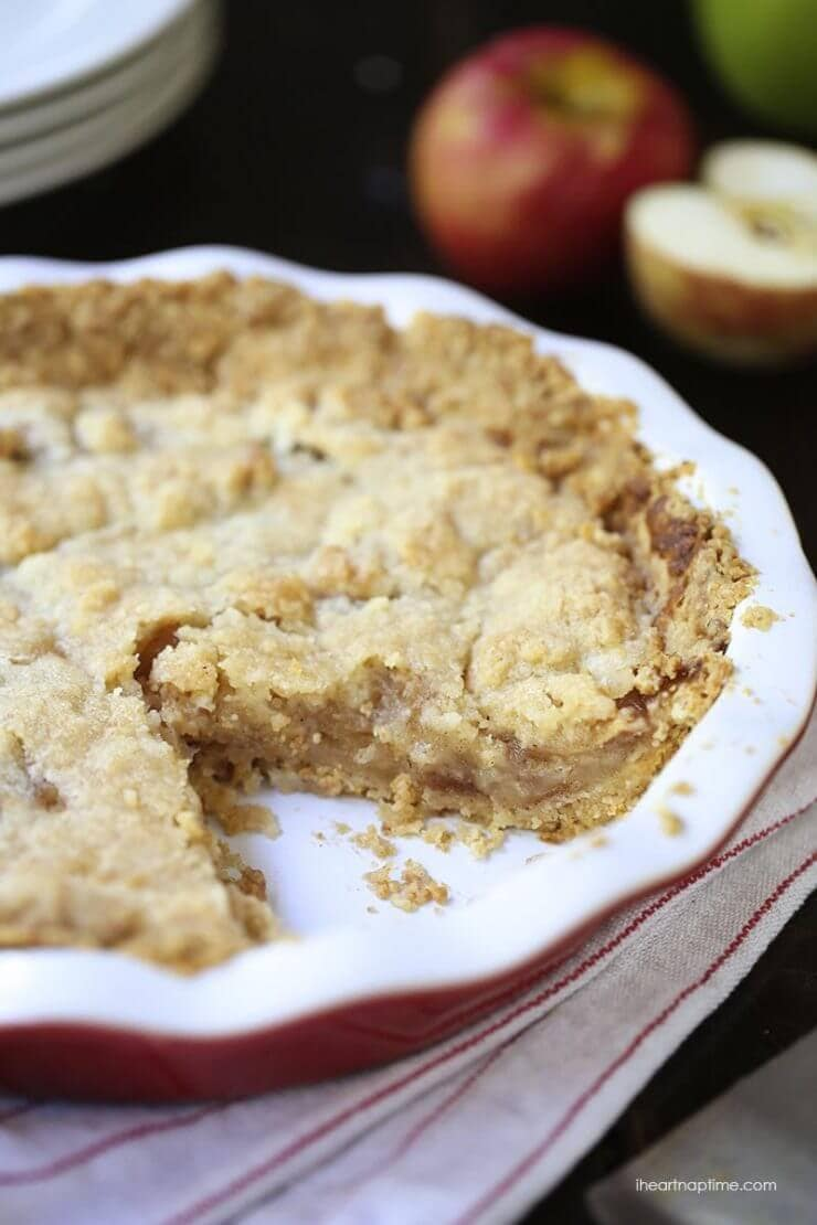 Brown Bag Apple Pie featured on the Top 50 Apple Recipes
