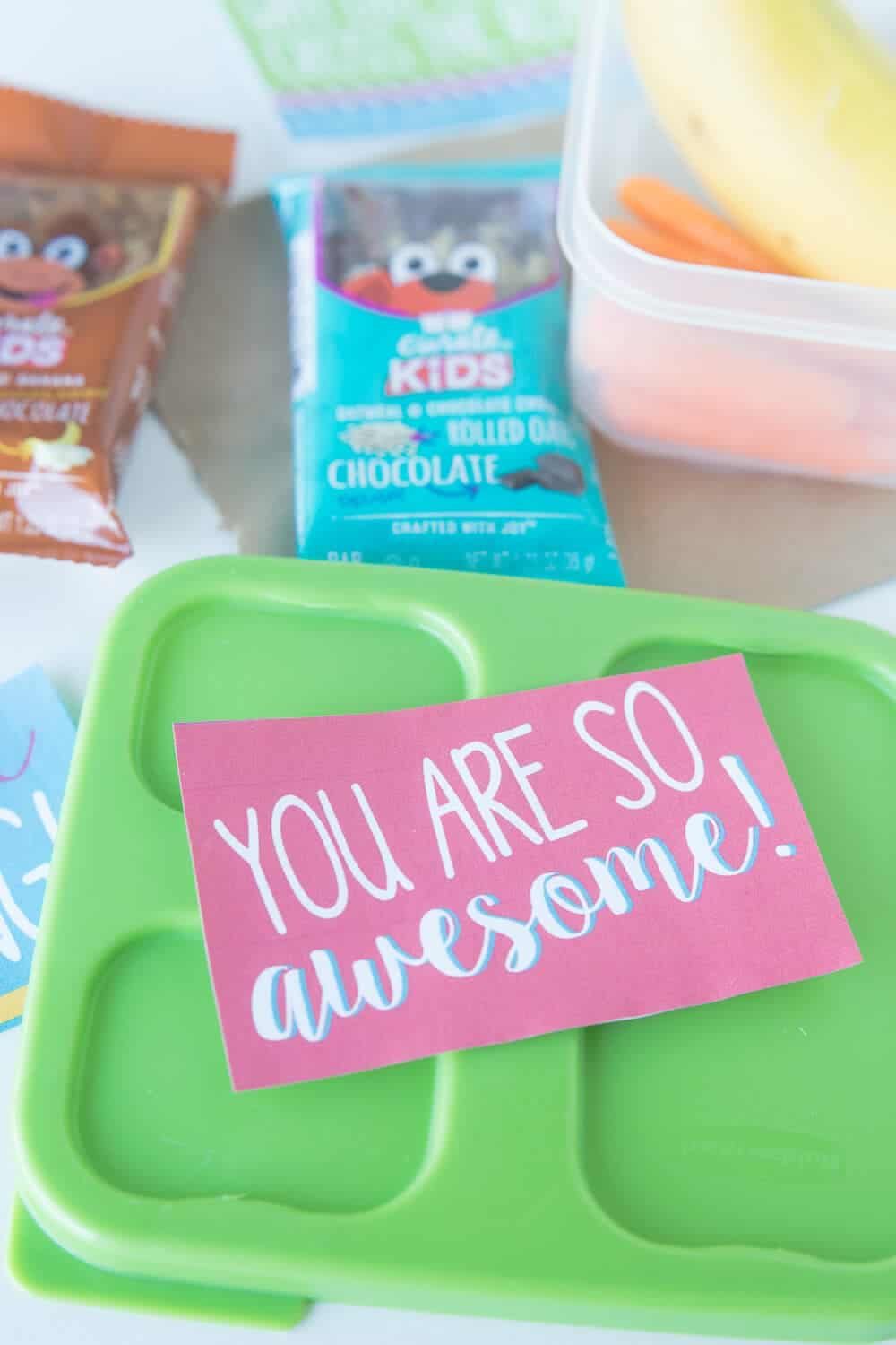 5 Lunch box packing tips... free lunch box notes printable