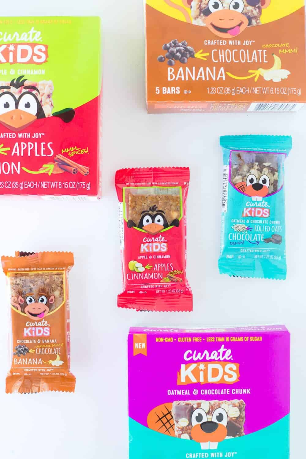 Five Lunchbox Packing Tips... Curate Kids Bars are great to include in lunchboxes