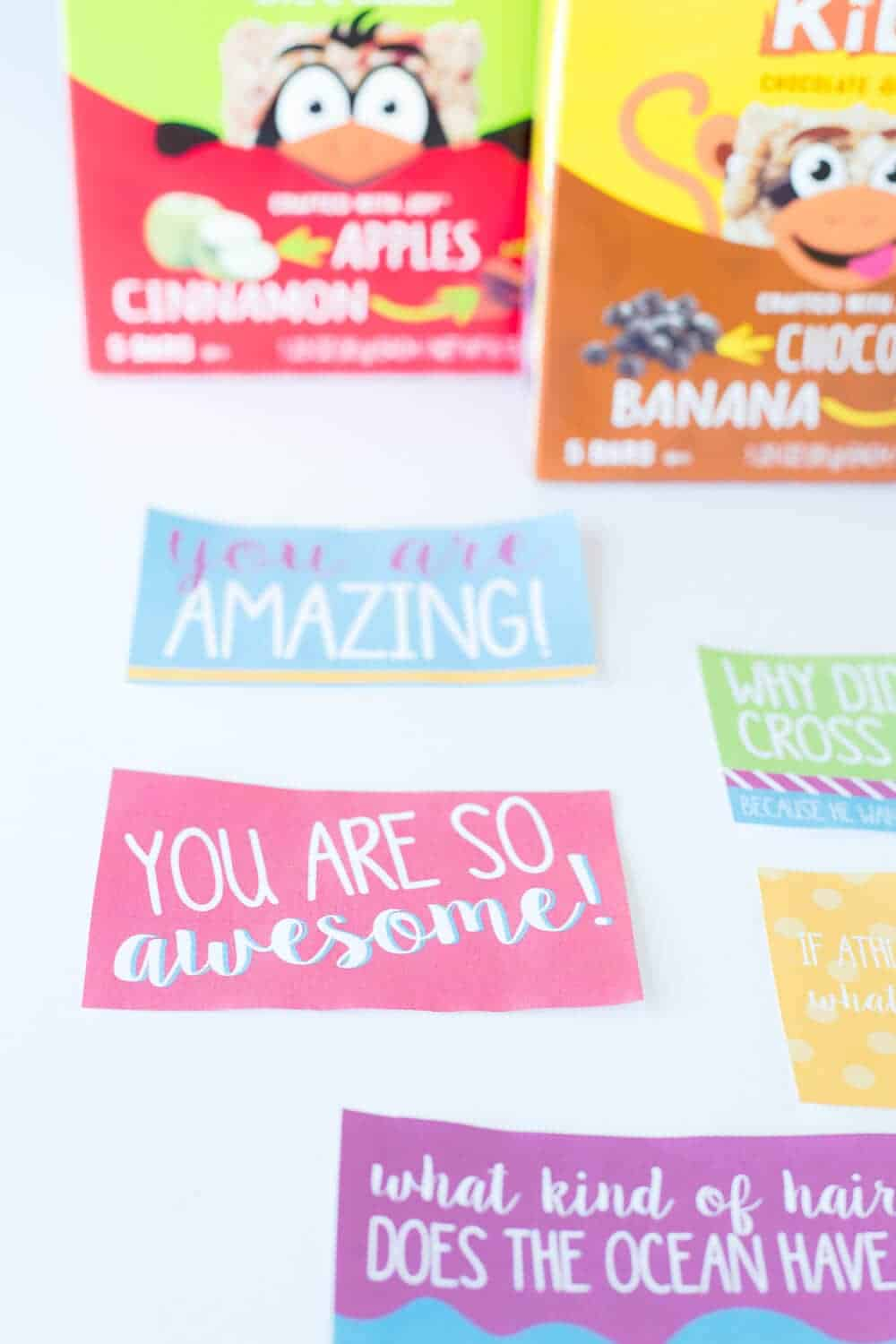 Five Lunchbox Packing Tips... print out these cute, free lunchbox notes!
