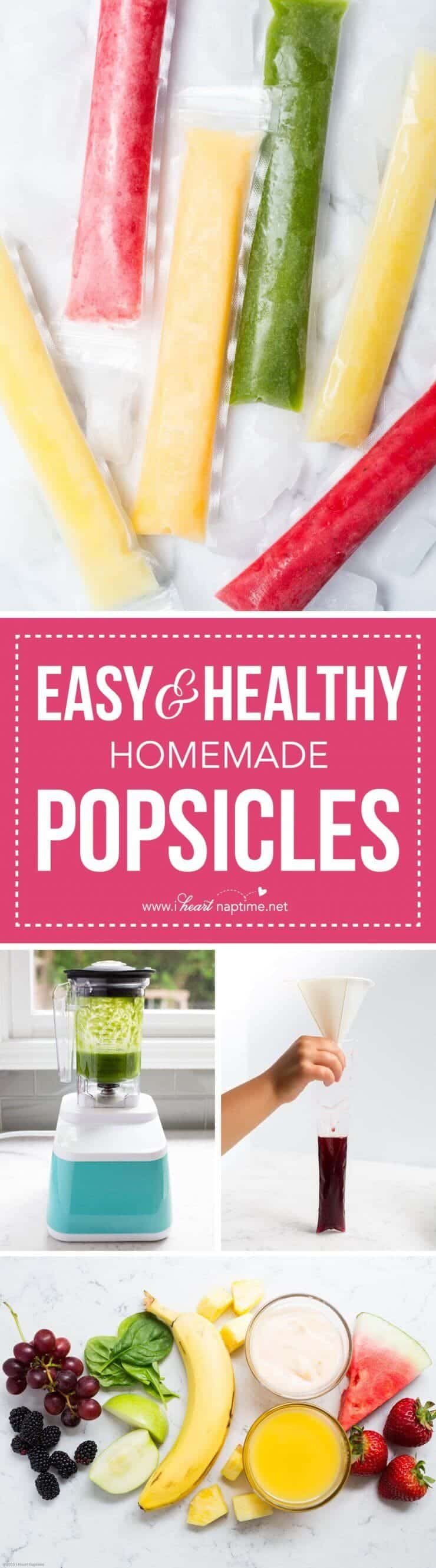 Easy and Healthy Homemade made with only a few ingredients, and no sugar!