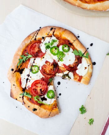 Homemade Pizza Dough... incredibly easy to make! One of my favorite recipes in book, which is now available for preorder!