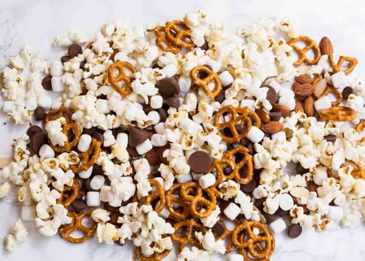 Smores snack mix-3