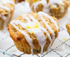 Lemon Zucchini Muffins... easy to make and done in 30 minutes!