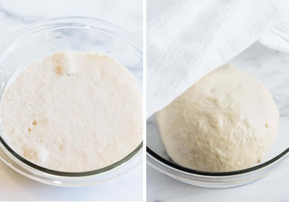 how to make pizza dough