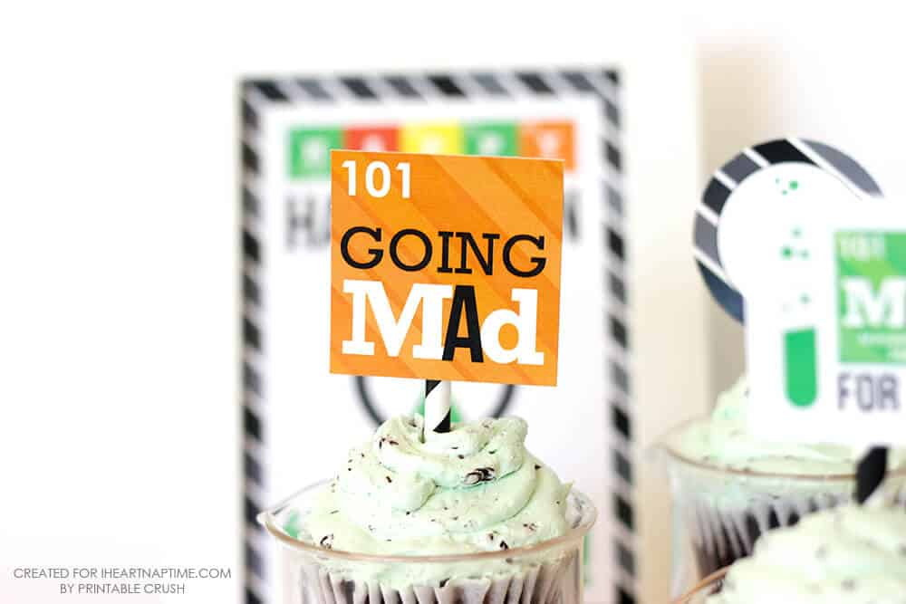 Mad Scientist Halloween Party Printables - going mad!