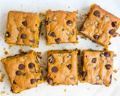Pumpkin Blondies... my favorite pumpkin recipe!