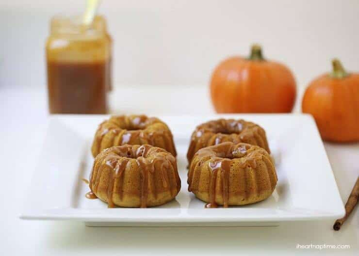 Top 50 Halloween Recipes... Pumpkin bundt cakes