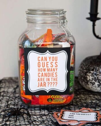 5 EASY Kids Halloween Games... Candy Guess Game