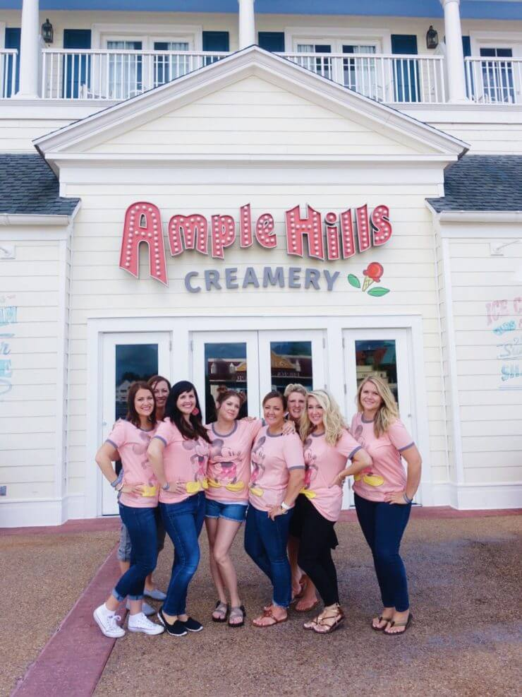 Ample Hills Creamery on The Boardwalk was simply amazing. All the flavors were delicious, and the pretzel cones were the perfect compliment.