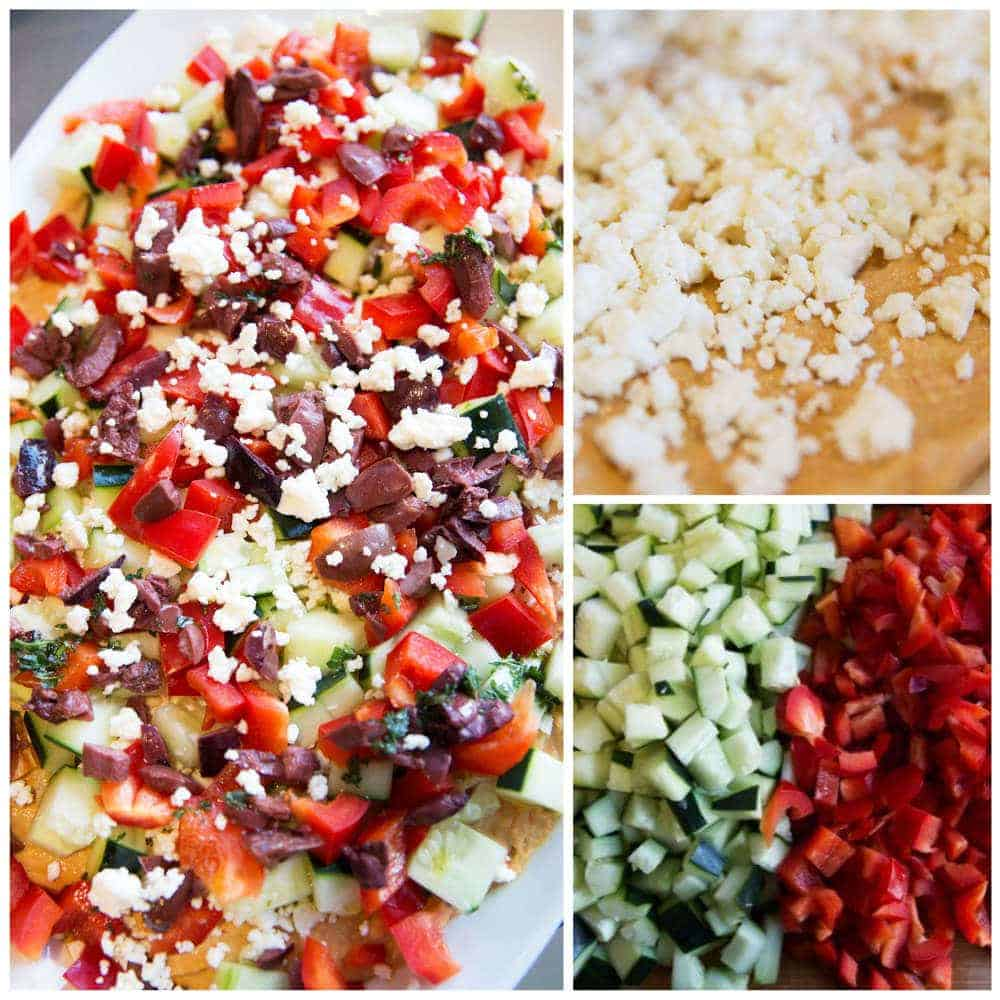 adding layers for greek dip