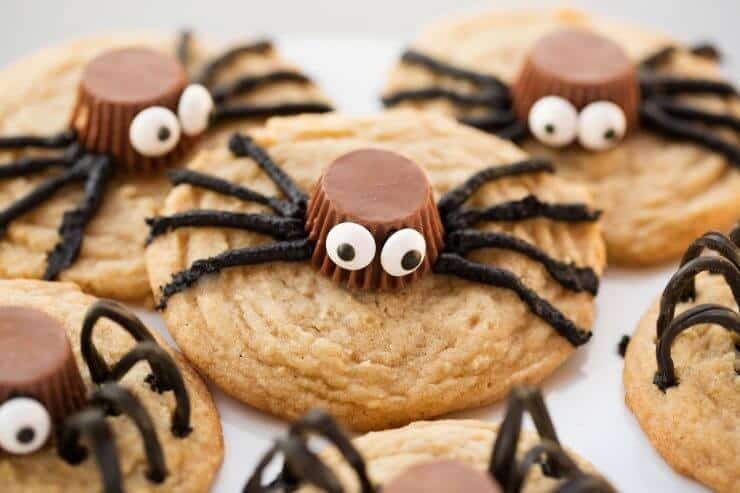 Spider Cookies... a fun and delicious treat!