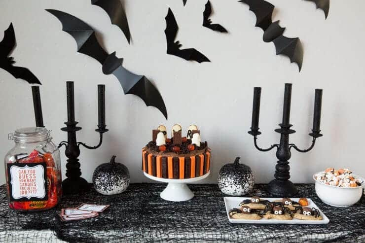 halloween graveyard cake serve up this spooky chocolate graveyard cake for your next