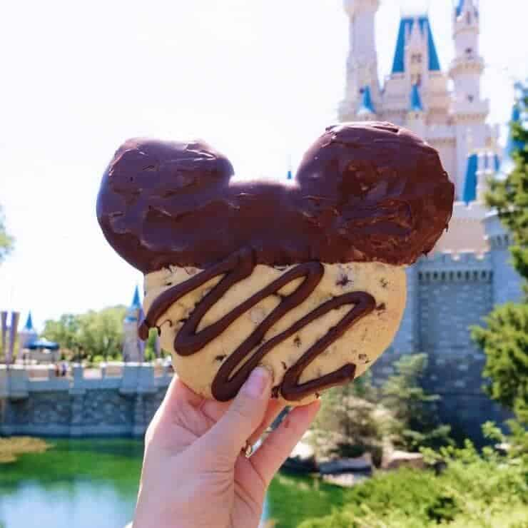These giant Mickey cookies from Big Top Souvenirs are a favorite!
