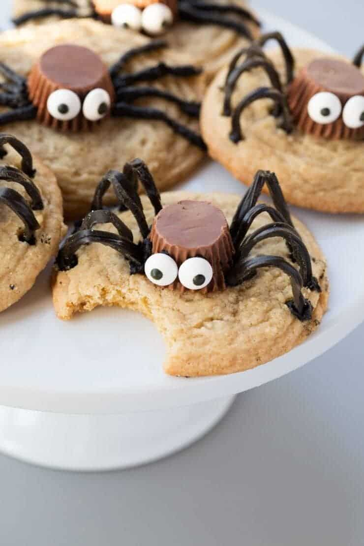 Spider Cookies... so fun for kids to help with!