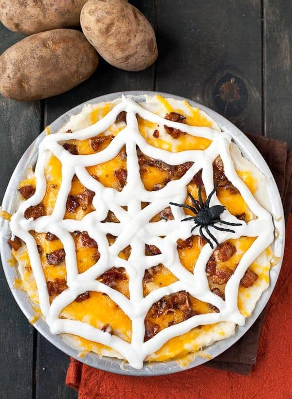 Top 50 Halloween Recipes... Loaded mashed potato casserole