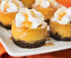 Pumpkin Cheesecake ...This light, tender, and flavorful cheesecake is simple and easy to make. So delicious!