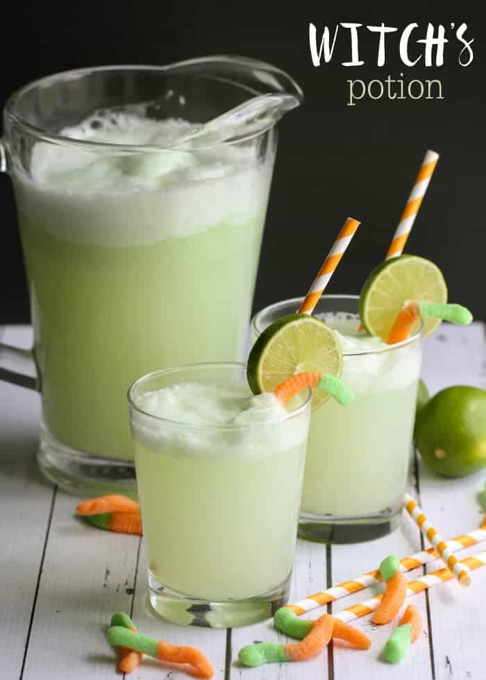 Top 50 Halloween Recipes... Witch's potion
