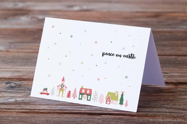 Free Christmas Gift Tags ...download these free printable gift tags to spruce up your holiday gifts! Perfect for having on hand throughout the holiday season, and easy to print in a pinch when you need extra!