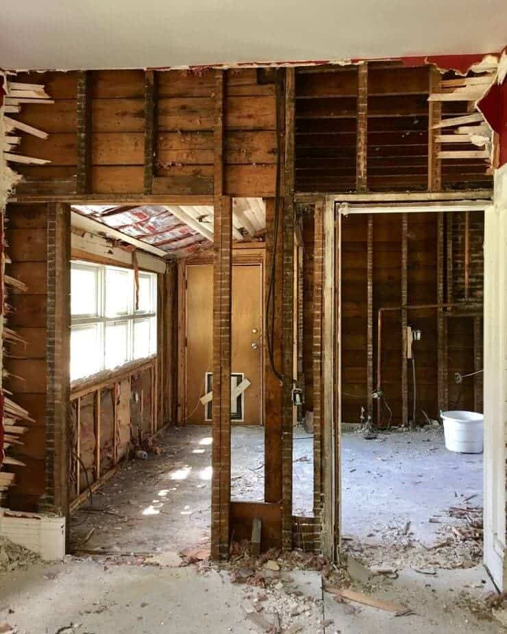 Our 1888 Fixer Upper DEMO Time ...this house should have been on the HGTV fixer upper, because more went wrong that we ever imagined!