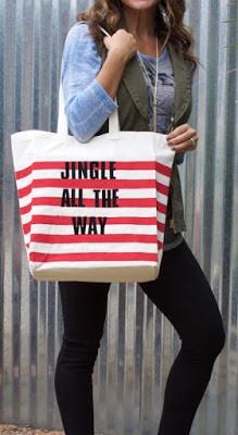 Jingle All the Way Bag