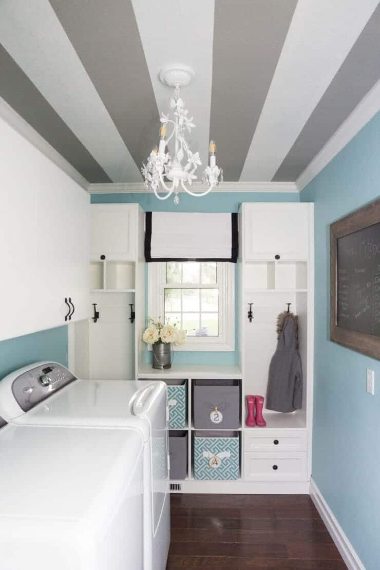 Bathroom Design Ideas With Stripes ~ Diy striped walls roundup lolly jane