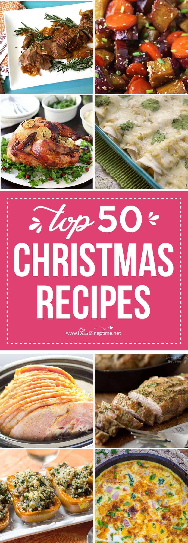 Top 50 Christmas Dinner Recipes - I Heart Nap Time - photo#34